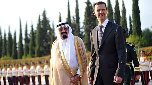 Abdullah and Assad