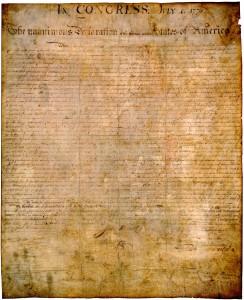 Declaration of Indepenence