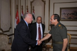 MG Vallely Dr Patrick Sookhdeo General El Sisi