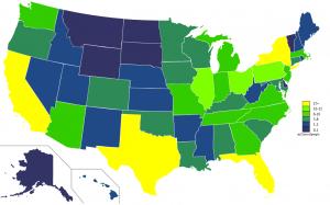 USA_states_population_map_2011_color