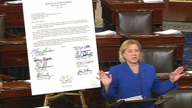 Video of Senator Mary Landrieu defending the so called Louisiana Purchase. ABCNEWS.com