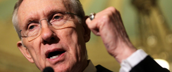 "Harry Reid wields his ""Iron Fist"" control over America's legislative needs. The ""Rule of Rulers""!"