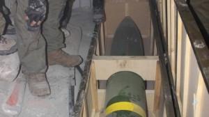 Iranian Rockets found on board.