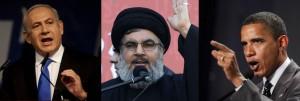 Netanyahu-Nasrallah-Obama