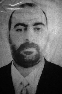 Undated file picture released Jan. 29, 2014, by the official Web site of Iraq's Interior Ministry claiming to show Abu Bakr al-Baghdadi, the head of the so-called Islamic State of Iraq and Syria. (Iraqi Interior Ministry via AP)