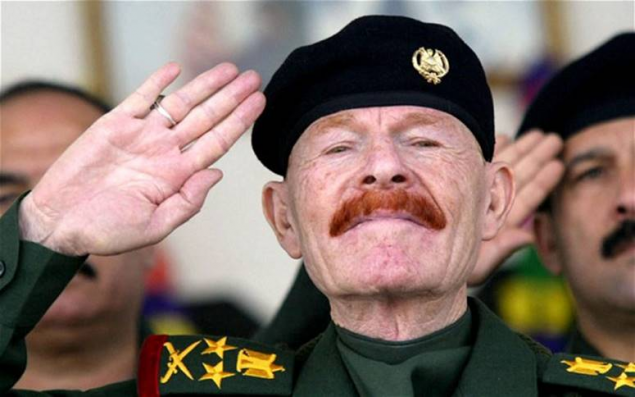 General Izzat Ibrahim al-Douri - the 'King of Clubs' of Iraq