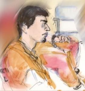 Artist's rendering of Miguel Santana Vidriales