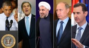132313_obama_kerry_rouhani_putin_assad_aps_605