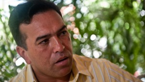 Antonio Rivero, a retired army general who was close to President Hugo Chavez and has denounced the Cuban military presence in strategic areas of the Armed Forces. (Miguel Gutierrez/AFP/Getty Images) (2010 AFP)