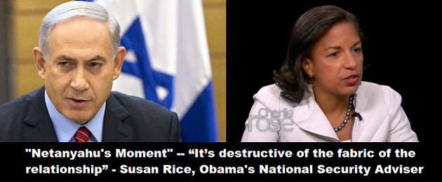 Netanyahu Moment Rice Destructive