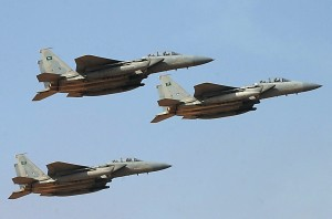 Saudi jets roar over Yemen