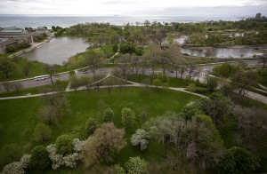 Jackson Park, on Chicago's South Side, is one of the proposed locations for Mr. Obama's presidential library. Credit Joshua Lott for The New York Times
