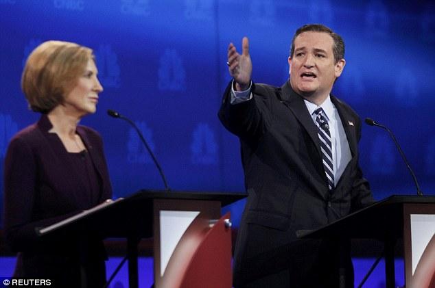 Senator Cruz rightfully scolds the moderators...