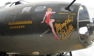 Memphis-Belle-Nose-Art