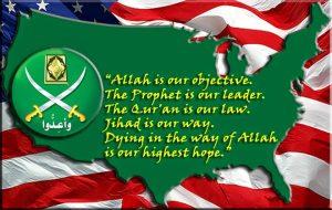 map-us-muslim-brotherhood-motto-waving-us-flag